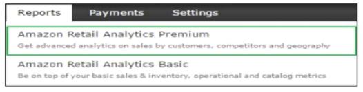 Amazon Retail Analytics Subscription