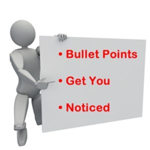 amazon bullet points guidelines