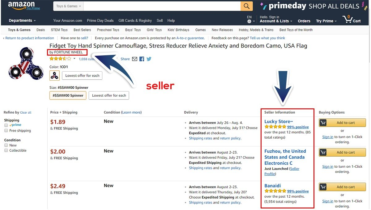 How to find Amazon Listing Hijack