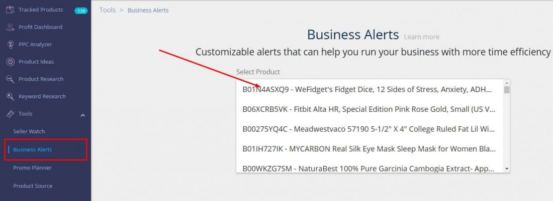Amazon Business Alerts