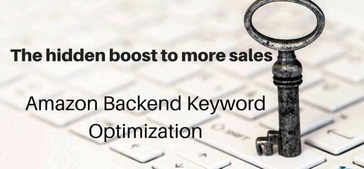 How to Optimize Amazon Backend Keywords for PPC