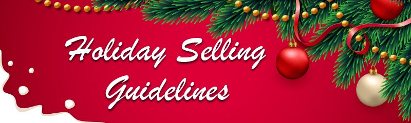Amazon Q4 2018 Holiday Selling Guidelines