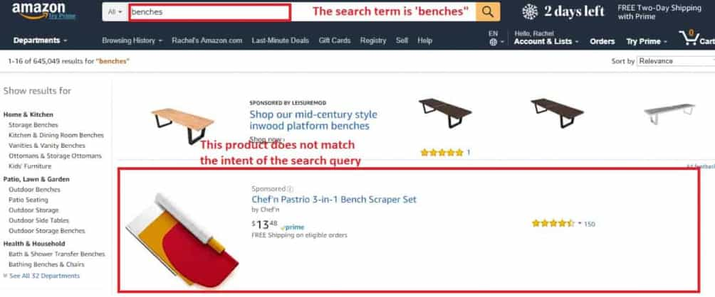 amazon ppc keyword match types