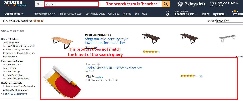 broad keyword match example amazon sellerprime ppc
