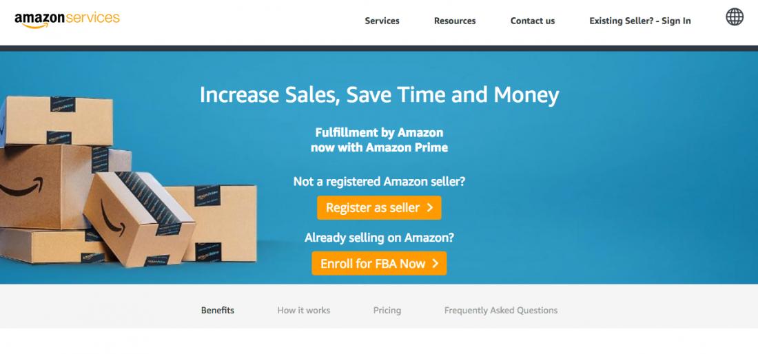 Amazon Seller fba Services