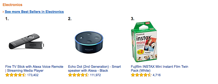 Electronic Accessories & Gadgets best selling product on amazon