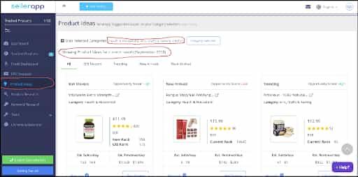 amazon product ideas finder