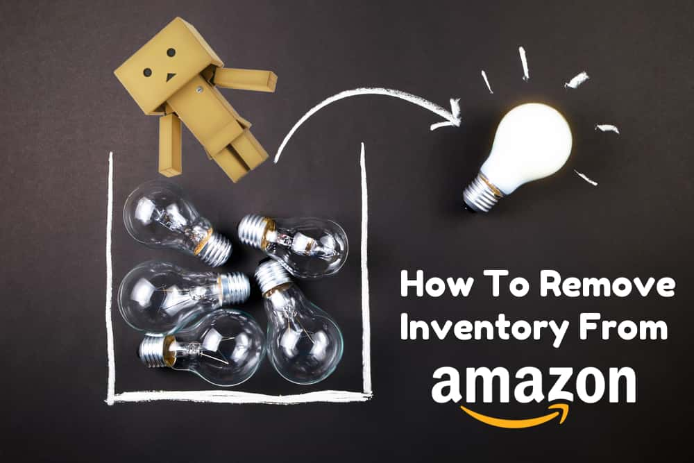how to remove inventory from amazon