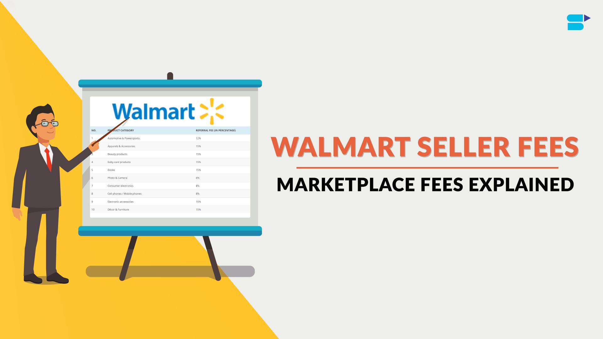 Walmart Seller Fees Marketplace Fees