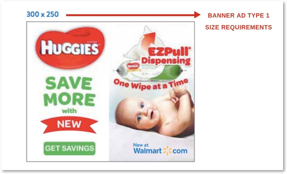 guidelines of walmart banned ads