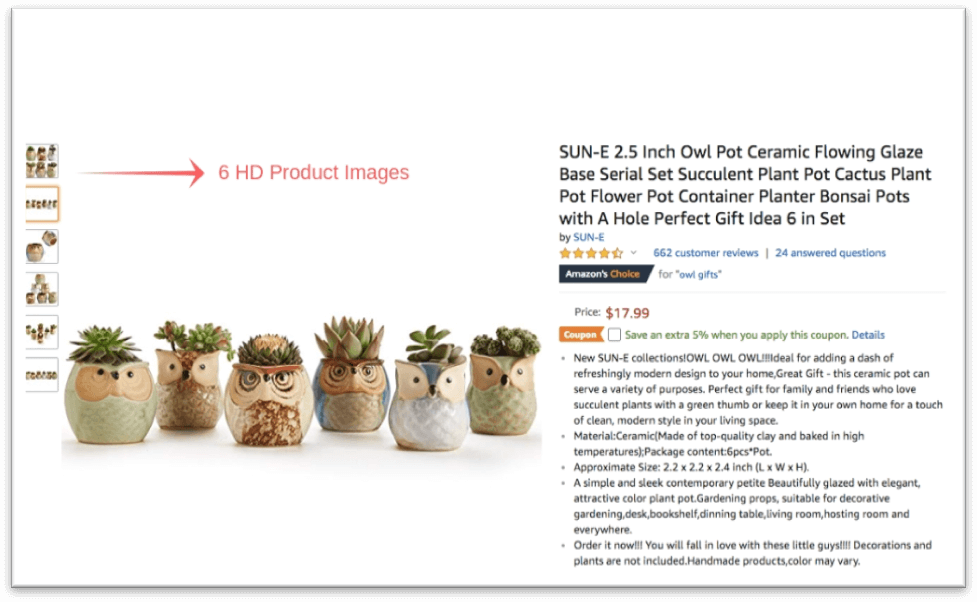 best amazon product listing template