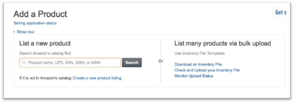 adding product name on amazon seller central