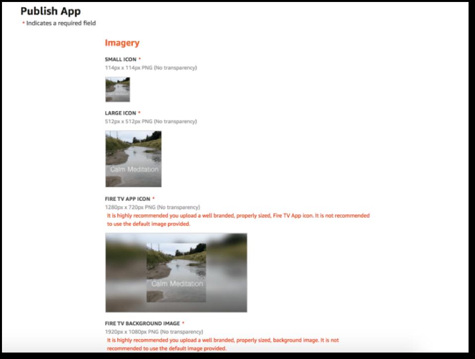 amazon product video publish
