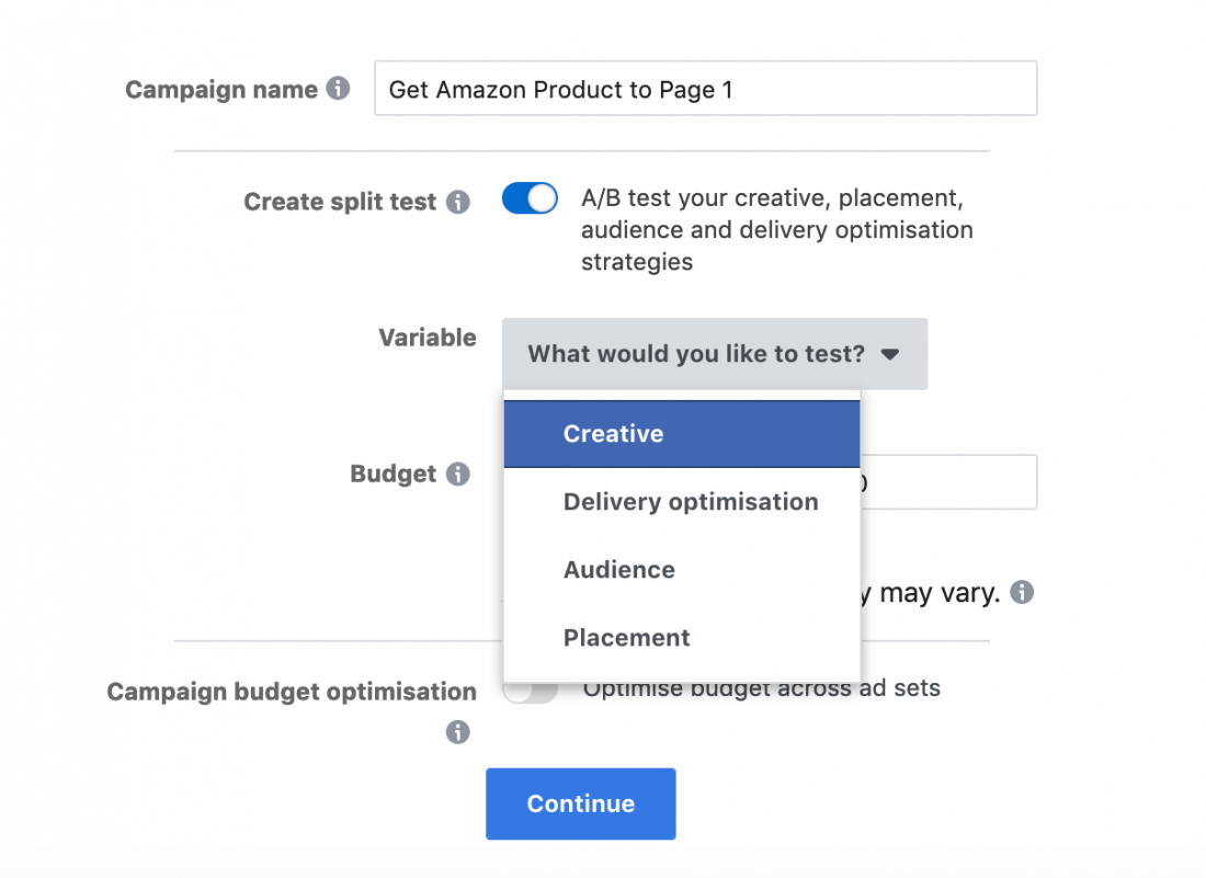 amazon fba seller facebook ads