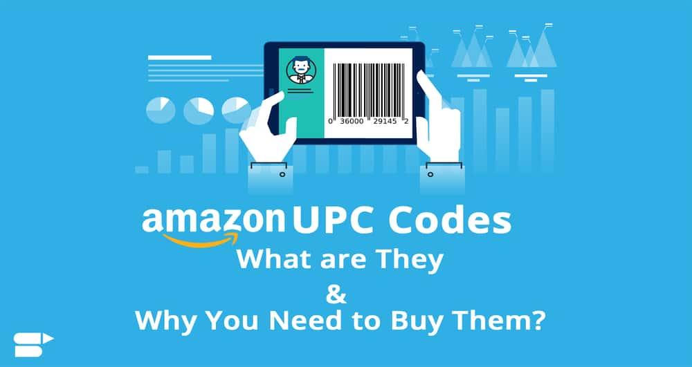 UPC codes amazon