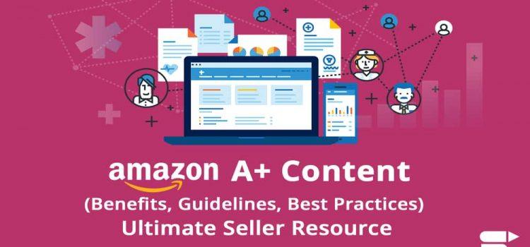 Amazon A+ content