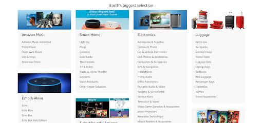 amazon category selection based on niche
