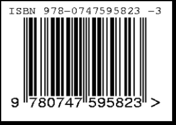 amazon books isbn code