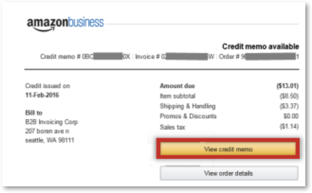 amazon business credit