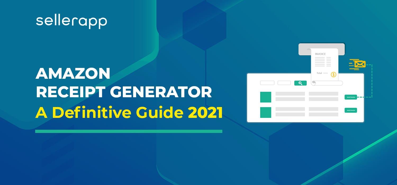 amazon receipt generator guide