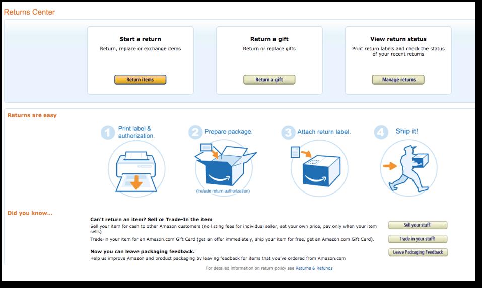 amazon product easy returns 1