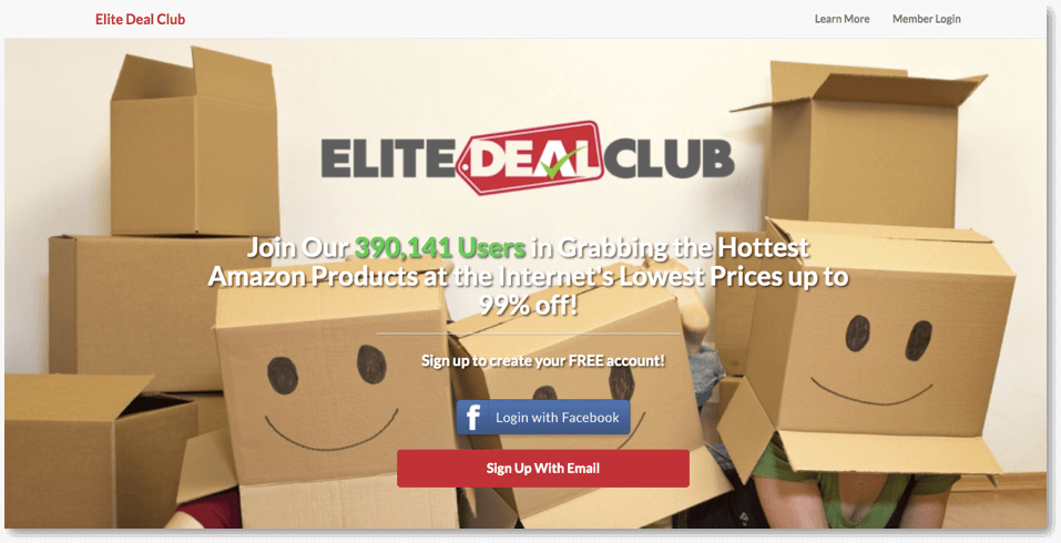 how elite deal club works