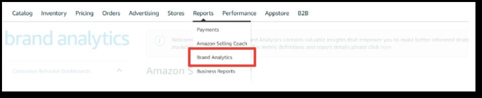 amazon brand analytics conversion rate