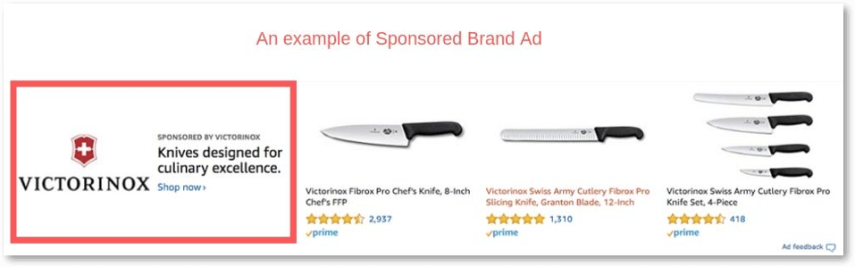 example for amazon sponsored brand ads