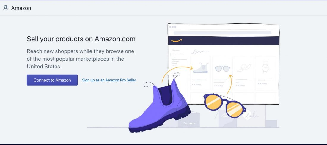 connect to amazon to Shopify Amazon integration