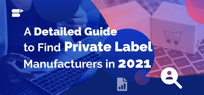amazon private label manufacturers