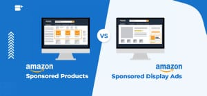 amazon sponsored products vs display ads