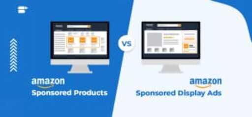 amazon sponsored products vs display ads