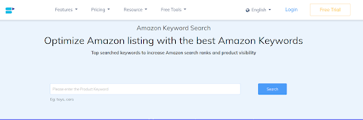amazon keyword research for best sellers