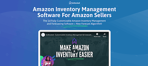 sostocked inventory software for amazon