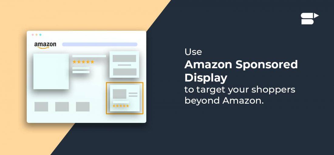 amazon sponsored display target for buyers