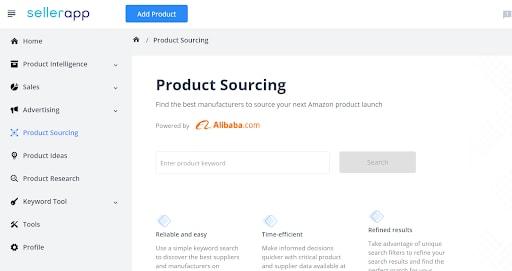 amazon product sourcing tool