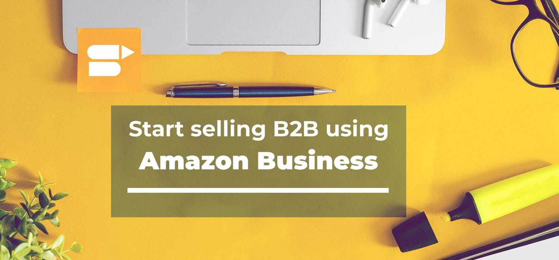 Amazon b2b opportunities
