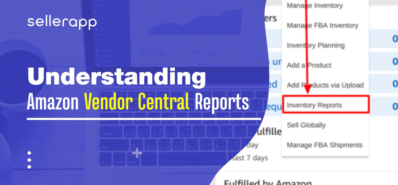 amazon vendor central report