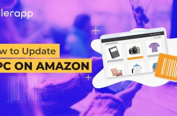 how to update upc for amazon listing
