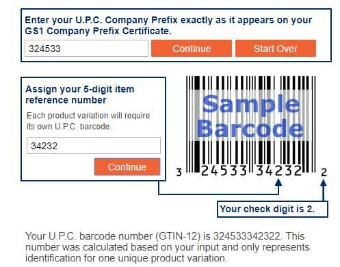 what are amazon upc codes