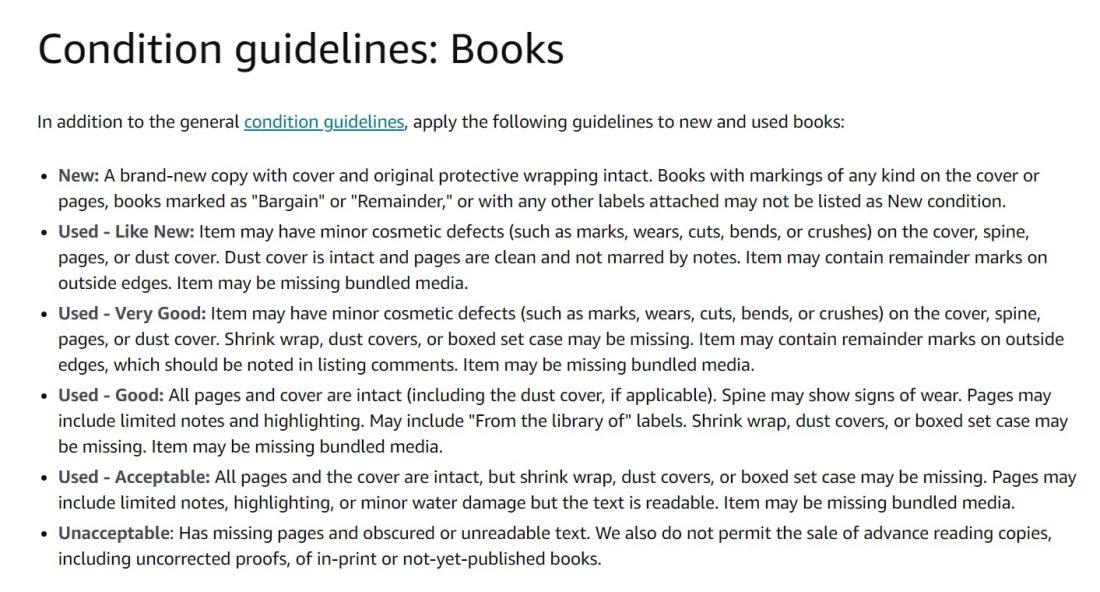 sell used books on amazon