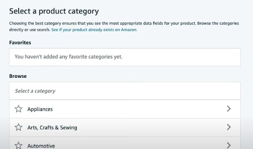 amazon product listing and content guide