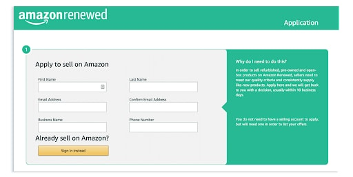 what products can you sell on amazon renewed