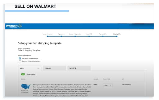 how to get approved to sell on walmart