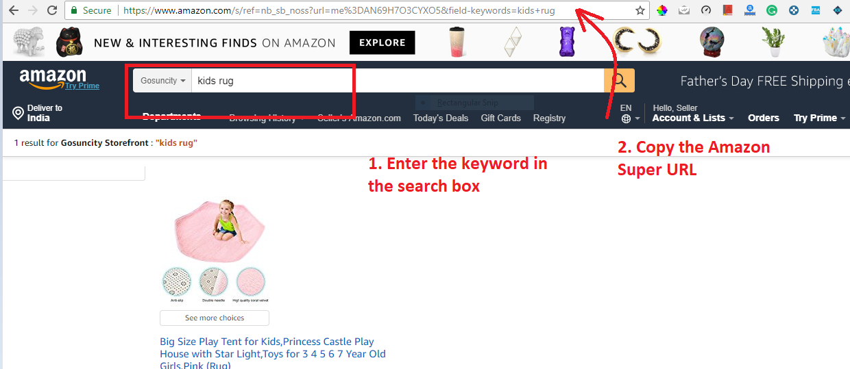How to create a 2-step Amazon Super URL - SellerPrime Help